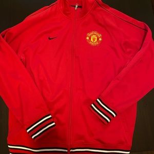 Manchester United Football Nike track jacket